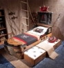 Roomset Bedroom for Child  - BLACK PIRATES - ::  ::