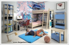 Bunk bed Bedroom for Child King