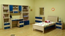Bookcase Bedroom for Child